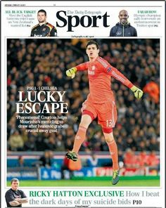 Courtois saves the #BLUES