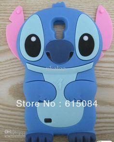 5c1855a4f Buy 3D Cute Stitch Silicon Case Cover for Samsung Galaxy S4 I9500 Silicone  Lilo Cover