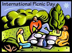 Clip Art For International Picnic Day