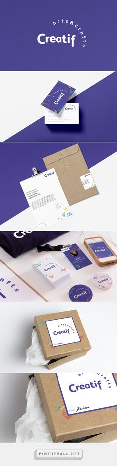 Creatif, arts & crafts. on Behance | Fivestar Branding – Design and Branding Agency & Inspiration Gallery