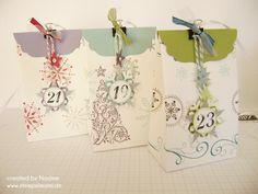 Adventskalender Advents calendar Stampin Up Stempelmami 004
