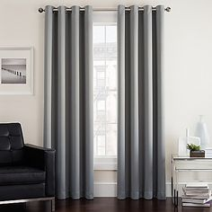 Product Image For Twilight Room Darkening Grommet Top Window Curtain Panel