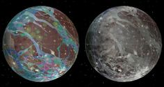 First geological map of Ganymede, Jupiter's largest moon - io9