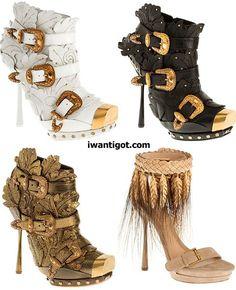 """Alexander McQueen Spring Summer 2011 Shoes"" ... So fun and fabulous!"