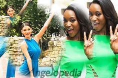 Pia Wurtzbach video bombing Deshauna Barber is the cutest thing you will watch today