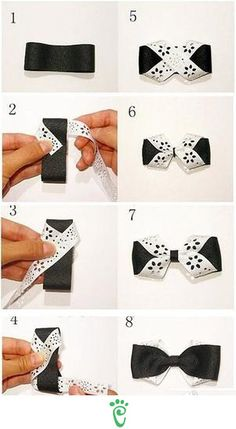 DIY/Tutorial Bow Hairclip