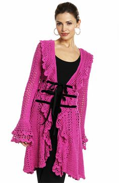Crochet Sweater-Coat