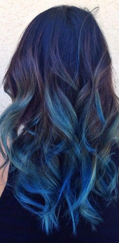HOW TO: Old School Ombre To New School Blue Color Melt | Modern Salon