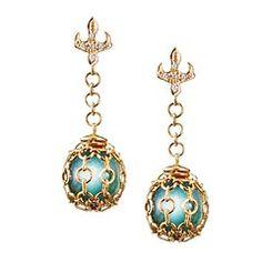 """""""Waris Ahluwalia"""" earrings"""
