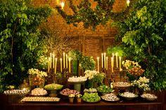 decoração de casamento com folhagem - revista icasei (1)