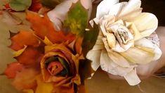 Jana Melas Pullmannová: Ruže z listov a šúpolia Youtube, Flowers, Plants, Autumn Leaves, Flora, Plant, Royal Icing Flowers, Flower, Florals
