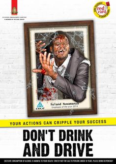 Uganda Breweries Limited Beer: Don't drink and drive