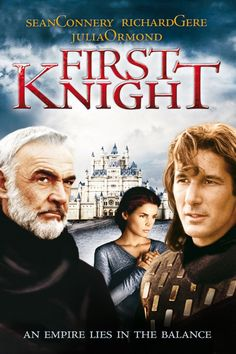 Lancelot, o Primeiro Cavaleiro (First Knight), 1995. What a dilemma...Connery or Gere...hmmm...she gets both...yup, that's a dilemma