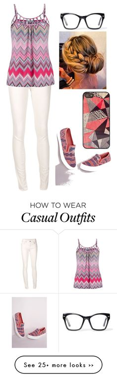 """Casual Aztec"" by panenguin on Polyvore"