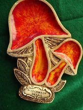 Vintage Ceramic Red Radish Bunch Treasure Craft USA Spoon Rest