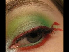 80's Cartoon Characters - Teenage Mutant Ninja Turtles an eyeshadow tutorial. Vlogger is ThePinkLadyJ. She has an Avant-garde makeup and style channel. Subscribe here - http://www.youtube.com/user/ThePinkLadyJ
