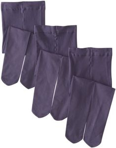 Country Kids Girls 2-6X Pima Cotton Tights 3 Pair, Dusky Plum, 6-8 Years 3 pairs of super comfy cotton tights. Available in sizes 1-3yrs, 3-5yrs, 6-8yrs, 9-11yr. Fantastic array of colors. With added stretch for a perfect fit. Easy care, machine washable.  #Country_Kids #Apparel