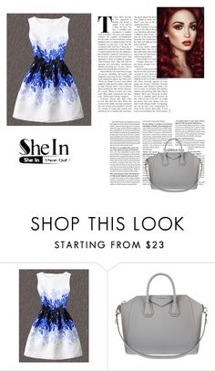 """""""Untitled #102"""" by ktoumpektsi ❤ liked on Polyvore featuring WithChic and Givenchy"""