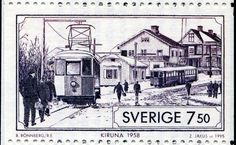 Tranvías de Kiruna 1958, Suecia
