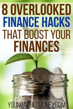 There's an endless number of things you can do to boost your finances, so some things get overlooked. Here's 8 often overlooked finance hacks to boost your finances. << Young Adult Money