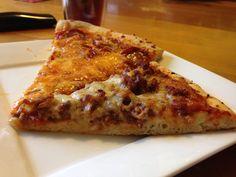 Homemade pizza with bread machine pizza dough