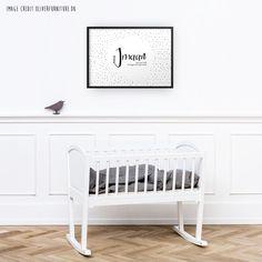 Baby name print 'Imaan' - nursery poster print wall art