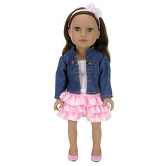 Journey Girls 18 inch Soft-Bodied Doll - Kyla (Jean Jacket) in Great Big ToysRUs Play Book from ToysRUs on shop.CatalogSpree.com, my personal digital mall.