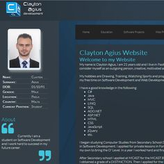 My Website: www.claytonagius.com