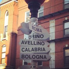 Avellino. My grandmothers mother and father were from this town in Italy. My grandmother and grandfather were born in Little Italy, NYC.  DP