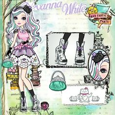 Ever After High Rebels, Character Questions, Disney Paper Dolls, Ever After Dolls, American Girl Crafts, High Art, Beautiful Anime Girl, Monster High Dolls, Aesthetic Iphone Wallpaper