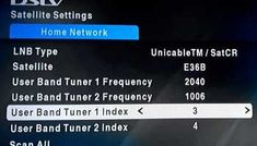 comprehensive list of DStv User band frequencies indexes for Smart LNB tuners, explora switches and switches in order to setup Xtraview on decoders 3 Network, Home Network, Video On Demand, Connection, Band, Easy Diy, Sash, Bands