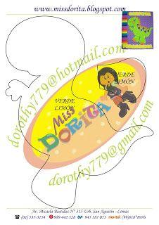Miss Dorita: Archivador de Dinosaurio