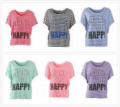 Csíkos laza felső. http://www.monarey.eu/Clothes/t-shirt-376