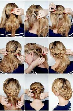 Achieve nice braids with just a few steps. | via Facebook - popular hair tutorials photo