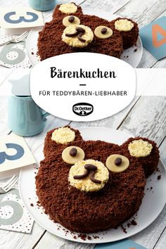 Great Pictures bear cake Strategies Whether creamy break fast Drink or fruity refreshment among – Smoothies only generally go. Cake Mixture, Easy Smoothie Recipes, Pumpkin Spice Cupcakes, Bear Cakes, Food Cakes, Fall Desserts, Cake Mold, Ice Cream Recipes, Cake Recipes