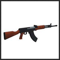 Full Size Type 81-1 Assault Rifle Free Paper Model Download - http://www.papercraftsquare.com/full-size-type-81-1-assault-rifle-free-paper-model-download.html