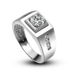 LASAMERO 925 Ster...   http://instyle-menswear.myshopify.com/products/lasamero-925-sterling-silver-mens-engagement-ring-1-ct-nscd-simulated-diamond-wedding-engagement-ring-for-men?utm_campaign=social_autopilot&utm_source=pin&utm_medium=pin