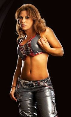 Former WWE Diva and TNA Knockout Mickie James http://hubpages.com/sports/PWI-Female-50-for-2009