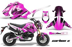 Honda Grom 125 Motocross Graphic Kit! Over 60 designs to Choose from.. 2013-14 Honda MX Decals $170
