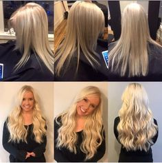 Great Lengths Extensions by Carissa Beadling @jrsalongr