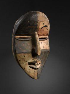 Woyo Ndunga Mask, DR Congo African Masks, African Art, Congo, Ritual Dance, Art Premier, Zoology, Tribal Art, Art And Architecture, Archaeology