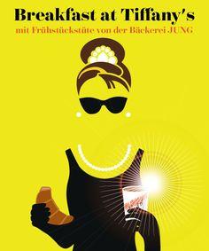 Best of ewz.stattkino: BREAKFAST AT TIFFANY'S mit Frühstück von der Bäckerei Jung• Sonntag, 19. Oktober 2014, 12:15 im ewz-Unterwerk Selnau • L'ALTRO Design Home Art, Tiffany, Art Drawings, Design Inspiration, Movie Posters, Film Festival, Sunday, Guys, Film Poster