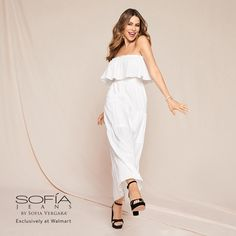 Casual Outdoor Weddings, Plus Size Sewing, Only At Walmart, Sofia Vergara, Summer Styles, Sewing Ideas, New Dress, Milan, Outfit Ideas