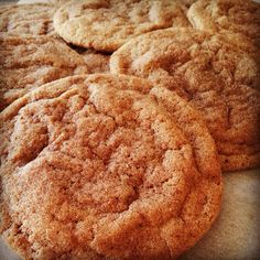 Churro Cookies - Put a scoop of slightly softened ice cream between two of these cookies to make ice cream sandwiches. You can also roll the edges in things like sprinkles, toasted coconut, chopped nuts, etc. Consider setting up a bar with different flavors so guests can create their own. Summertime Cravings with Haylie Duff