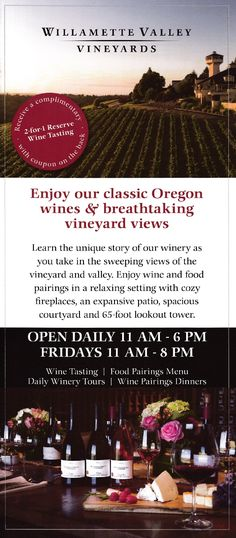 Lookout Tower, Willamette Valley, Cozy Fireplace, Brochures, Wine Tasting, Wine Recipes, Wines, Fire Surround