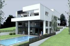 House in Filothei,Backyard, house, house design, residence, residence design, contemporary, contemporary house design, contemporist, contemporist house design