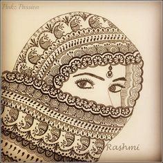 Pinkz Passion : Rashmi Krishnappa - An Inspiring Artist Doodle Art Drawing, Zentangle Drawings, Mandala Drawing, Cool Art Drawings, Art Drawings Sketches, Zentangle Art Ideas, Zantangle Art, Zen Art, Artist Art