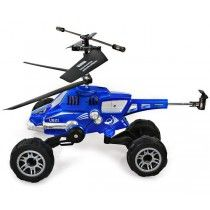 UDI U821 3.5CH Radio Control Helicopter Car Missile Multifunctional Ruggedness and Gyro Blue And Red