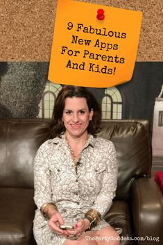 The best phone apps for parents and kids! And we just added a bonus app so there are 10 fabulous apps to save you tons of time!| The Party Goddess! #phoneapps #apps #kids #parents