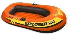 Buy Intex: Explorer 200 Inflatable Boat at Mighty Ape NZ. Have a boat race with friends or leisurely cruise around the pool on lazy summer days with the capacity Intex Explorer This super bright. Floating In Water, Sand And Water, Open Water, Best Inflatable Boat, Pool Floats For Kids, Exercise Fitness, Person Outline, Roadster, Best Boats